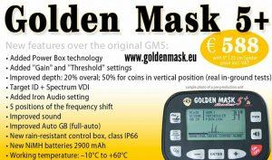 Металотърсач Golden Mask 5+