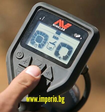 Металотърсач Minelab Gold Munster 1000 работи с автоматичен грунд баланс
